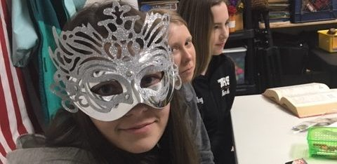 Who Is Behind the Mask? Learning English Composition